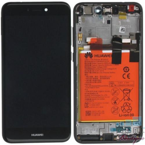 Display cu touchscreen Huawei Honor 8 Lite, Negru, Original