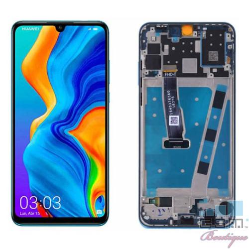 Display Huawei P30 Lite 24MP Original Cu Rama Albastru