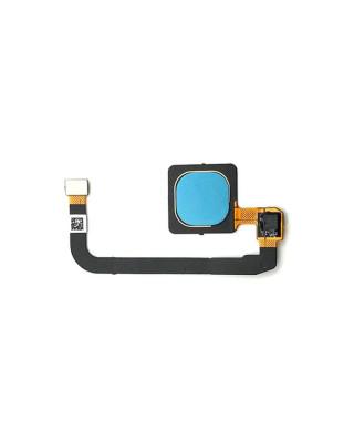 Home Buton + Senzor Amprenta Xiaomi Mi Max 3 Albastru