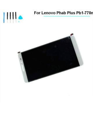 Ecran LCD Display Lenovo PHAB Plus PB1-770 PB1-770M PB1-770N/P Alb