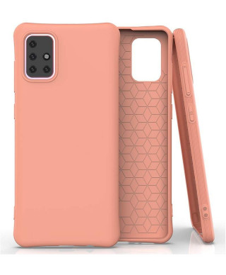 Husa Anti Shock Matt TPU Samsung Galaxy S10 Lite, G770 Orange