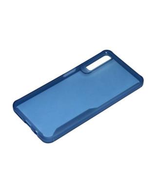 Husa Crystal TPU Nokia 8.1 Plus, Nokia 8.1 + Albastra