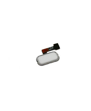 Home Buton + Amprenta Asus Zenfone 3 ZE520KL Alba