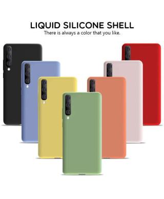 Husa Silicone Case Samsung Galaxy A41, A415 Neagra