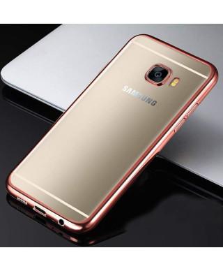 Husa Plating Samsung Galaxy A3 (2017) A320 Rose Gold