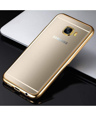 Husa Plating Samsung Galaxy A3 (2017) A320 Gold
