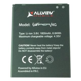 Baterie Acumulator Allview V1 Viper S 4G Original Originala .Acumulator tip Li-Ion 3.8V / Capacitate 1950 mAh mAh, 7.4Wh