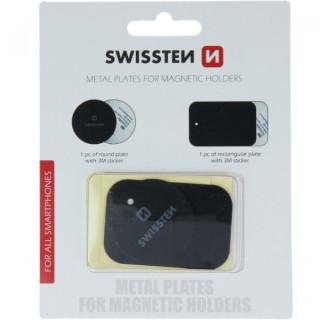 Adeziv Sticker Magnetic iPhone Samsung Huawei Nokia LG Asus Allview Negru