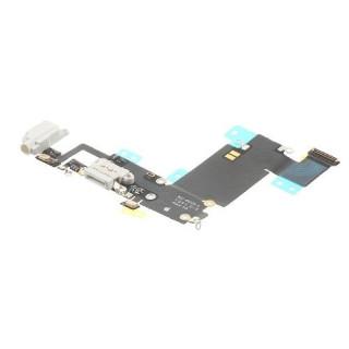 Banda Flex Conector Incarcare Si Jack Audio Apple iPhone 6s Plus Alb