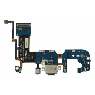 Banda Flex Cu Conector Incarcare Date Si Microfon Samsung Galaxy S8+ G955 Original Complet