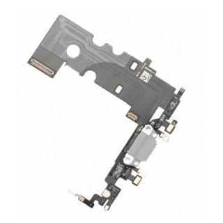 Banda Flex iPhone 8 Cu Conector Incarcare si Microfon Alba