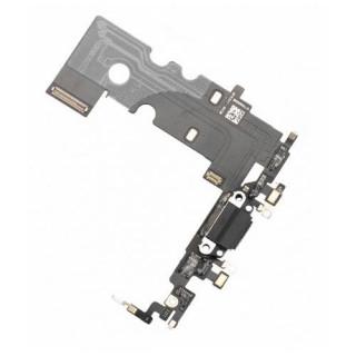 Banda Flex iPhone 8 Cu Conector Incarcare si Microfon Neagra