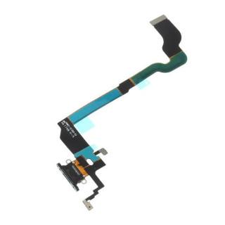 Banda Flex iPhone X Cu Conector Incarcare Neagra