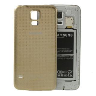 Capac Baterie Spate Samsung Galaxy S5 Original Auriu