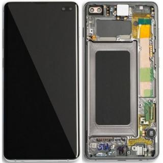 Display Cu Touchscreen Samsung Galaxy S10+ G975 Original Negru
