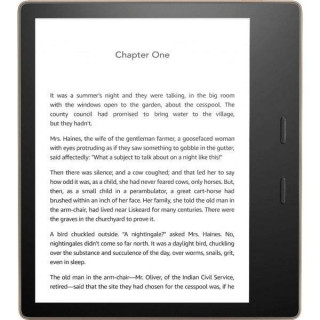 "E-Book Reader Amazon Kindle Oasis, Ecran 7"", 300 ppi, 32GB, Wi-Fi, Waterproof, Graphite"