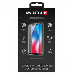 Folie Sticla iPhone 11 Pro Protectie Display Acoperire Completa Neagra