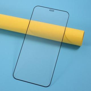 Folie Sticla iPhone 12 Pro Max Protectie Ecran Acoperire Completa Neagra