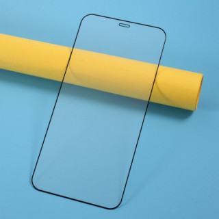 Folie Sticla iPhone 12 Protectie Ecran Acoperire Completa Neagra