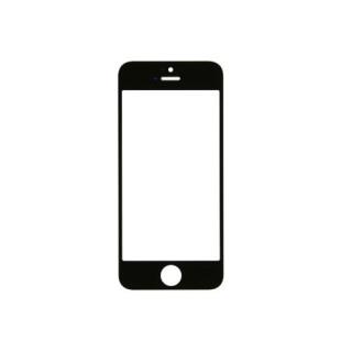 Geam iPhone 5 Cu Rama Negru