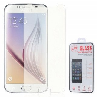 Geam Protectie Display Samsung Galaxy S6 G920 Explosion-proof Cu Margini Curbate