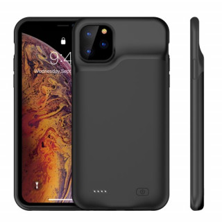 Husa Acumulator Extern iPhone 11 Pro Power Bank 5200mAh Negru