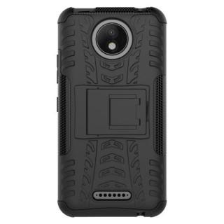 Husa Motorola Moto C Plus Dura Neagra