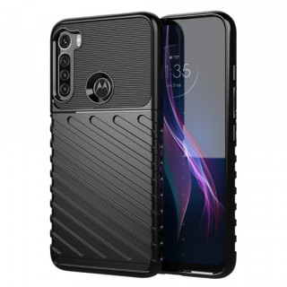 Husa Motorola Moto One Fusion Plus TPU Neagra