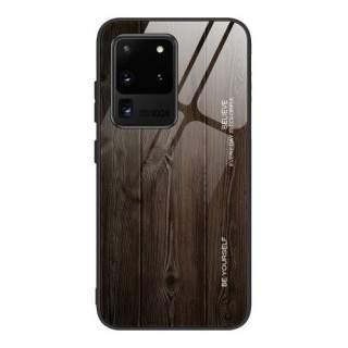 Husa Samsung Galaxy S20 Cu Spate Din Sticla Neagra