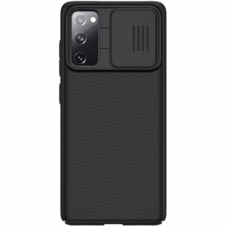 Husa Samsung Galaxy S20 FE Fan Edition Dura Cu Protectie Camera Neagra