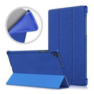 Husa Tableta Lenovo Tab M10 Plus Flip Cu Stand Albastra
