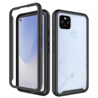 Husa Telefon Google Pixel 4A 5G Acoperire 360 De Grade Neagra