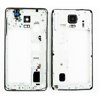 Sasiu Carcasa Mijloc Samsung Galaxy Note 4 N910 Negru Black Original Complet
