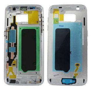 Sasiu Carcasa Mijloc Samsung Galaxy S7 G930 Silver Original Complet