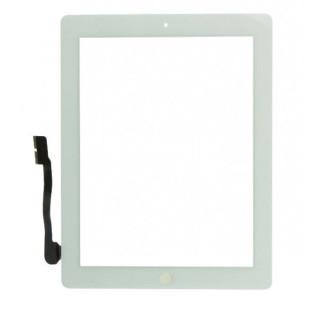 Touchscreen cu Buton Apple iPad 3 iPad 4 Alb
