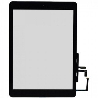 Touchscreen cu Buton Apple iPad Air Negru