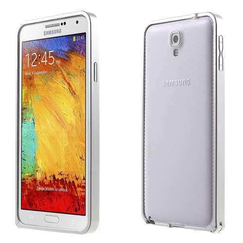 Bumper Samsung Galaxy Note 3 Neo Dual SiM SM-N7502 Metal Argintiu